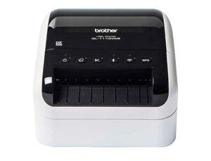 IMPRESORA DE ETIQUETAS BROTHER QL-1110NWB HASTA 103 MM CORTE AUTOMATICO IMPRESION B/N USB 2.0 WIFI B