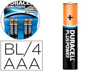PILA DURACELL ALCALINA ULTRA POWER AAA BLISTER DE 4 UNIDADES