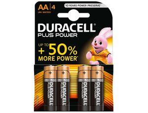 PILA DURACELL AA LR06 PLUS POWER PAQ 4 UD