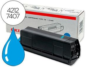 TONER OKI C5100/C5200/C5300/C5 400 AZUL TIPO C6 (5.000PAG AROX)
