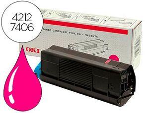 TONER OKI C5100/C5200/C5300/C5 400 MAGENTA TIPO C6 (5.000 PAGAPROX)