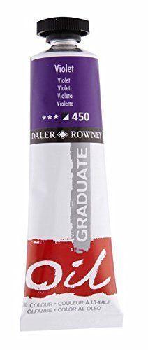 TUBO OLEO DALER ROWNEY GRADUATE 38 ML VIOLETA