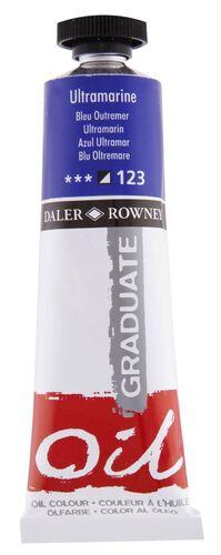 TUBO OLEO DALER ROWNEY GRADUATE 38 ML AZUL ULTRAMAR