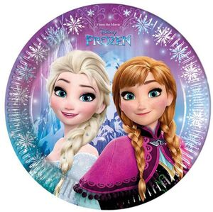 PLATOS FROZEN NORTHEN LIGHTS 23CM- B-8