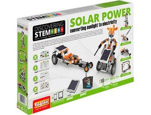 SET DE CONSTRUCCION ENGINO STEM ENERGIA SOLAR