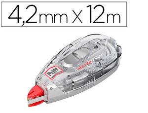 CORRECTOR PRITT ROLLER FLEX RECARGABLE 4,2 MM X 12 M