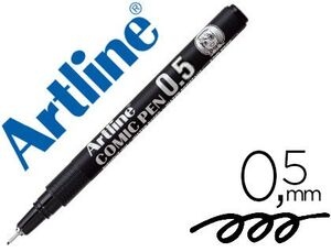 ROTULADOR ARTLINE CALIBRADO 0,5 MM NEGRO