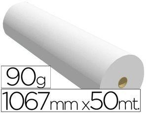 PAPEL REPROGRAFIA PARA PLOTTER 1067MMX50MT 90GR IMPRESION INK-JET