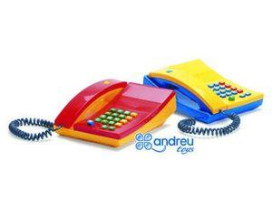 JUEGO DANTOY TELEFONO CON TECLAS Y SONIDO 18X19X8 CM