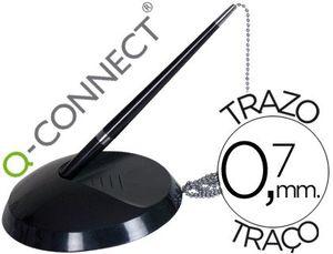BOLIGRAFO EXTENSIBLE Q-CONNECT -CON SOPORTE ADHERENTE