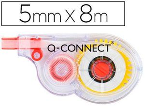 CORRECTOR Q-CONNECT CINTA BLANCO 5 MM X 8 M