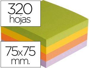 BLOC NOTAS ADHESIVAS Q-CONNECT 320 HJ