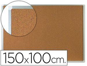 PIZARRA CORCHO Q-CONNECT MARCO ALUMINIO 150X100 CM CORCHO 5 MM