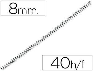 ESPIRAL METALICO Q-CONNECT 56 4:1 8MM 1M
