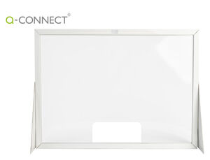 PANTALLA DE PROTECCION Q-CONNECT CARTON FORMATO HORIZONTAL 100X70 CM