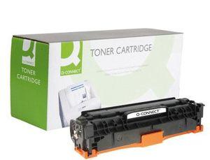 TONER Q-CONNECT COMPATIBLE HP CC530A PARA COLOR LASERJET CP2520/CM2320 MFP 3.000PAG NEGRO
