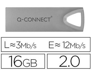 MEMORIA USB Q-CONNECT FLASH PREMIUM 16 GB 2.0