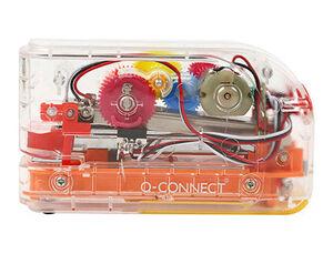 GRAPADORA ELECTRICA Q-CONNECT PLASTICO TRANSPARENTE MECANISMO DE COLORES CAPACIDAD 20 HOJAS USA GRAP