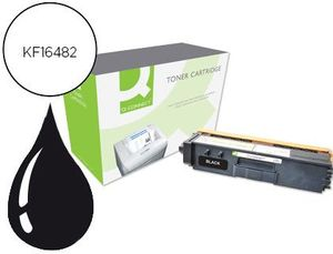 TONER Q-CONNECT COMPATIBLE BROTHER TN328BK HL-4570CDW / 4570CDWT / DCP 9270CDN / MFC 9970CDW NEGRO 6