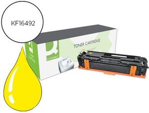 TONER Q-CONNECT COMPATIBLE HP CF212A COLOR LASERJET M251N / 251NW / 276N / 276NW AMARILLO 1.800 PAG