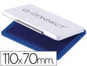 TAMPON Q-CONNECT Nº 2 110X70 MM AZUL