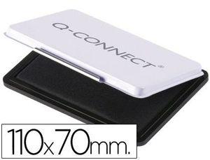 TAMPON Q-CONNECT Nº 2 110X70 MM NEGRO