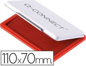 TAMPON Q-CONNECT Nº 2 ROJO 110X70 MM