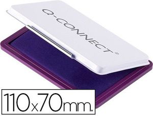 TAMPON Q-CONNECT Nº 2 110X70 MM VIOLETA