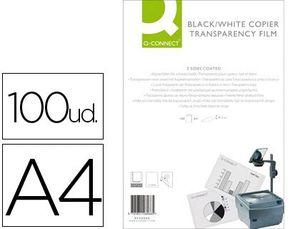 TRANSPARENCIA Q-CONNECT DIN A4 KF26066 PARA FOTOCOPIADORA TRATADA DOS CARAS CAJA DE 100