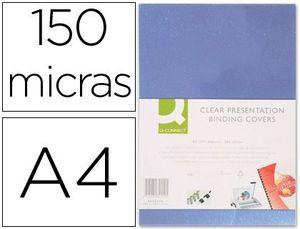 TAPA DE ENCUADERNACION Q-CONNECT PVC A4 150 MC