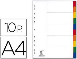 SEPARADORES A4 Q CONNECT 10 POSICIONES