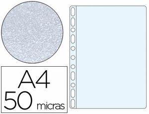 FUNDA MULTITALADRO Q-CONNECT A4 50 MC PIEL DE NARANJA BOLSA 100 UD