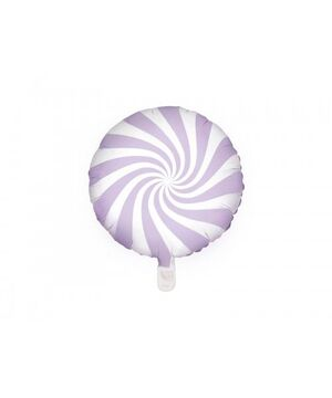 GLOBO FOIL BALLOON CANDY 45 CM LIGHT LILAC