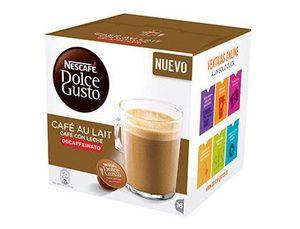 CAFE DOLCE GUSTO CAFE CON LECHE DESCAFEINADO MONODOSIS CAJA DE 16 UNIDADES
