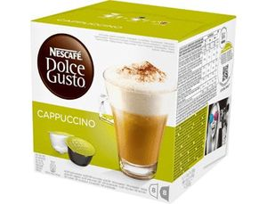 CAFE DOLCE GUSTO CAPUCHINO MONODOSIS CAJA DE 8 UNIDADES