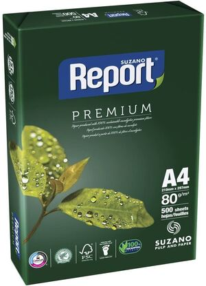 PAQUETE PAPEL REPORT A4 80 GR 500 HJ