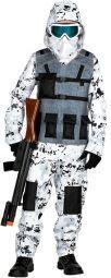 DISFRAZ ARCTIC SPECIAL FORCES TALLA 11-13 AÑOS 158 CM.