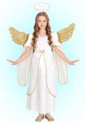 DISFRAZ ANGEL TALLA 4-5 AÑOS 116 CM.
