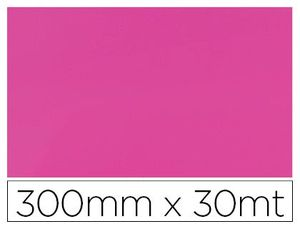 PAPEL FANTASIA COLIBRI SIMPLE MATE ROSA BOBINA 300 MM X 30 MT