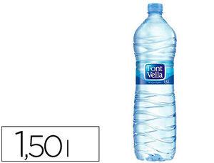 AGUA MINERAL NATURAL FONT VELLA BOTELLA SANT HILARI 1,5 L