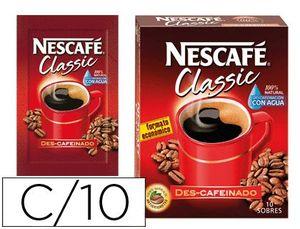 CAFE NESCAFE NATURAL MONODOSIS CAJA DE 10 SOBRES