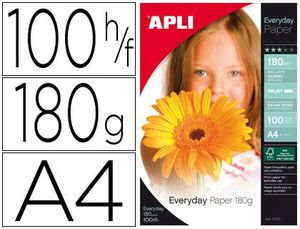 BLISTER PAPEL EVERYDAY 180 GR 100 HJ