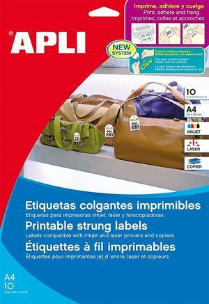 BLISTER ETIQUETAS COLGANTES 36,0X 53,0 10H