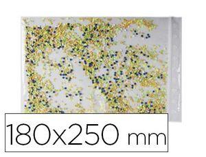 BOLSA PLASTICO AUTOCIERRE 180X250 MM PAQUETE DE 100