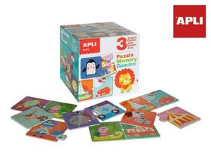 PUZLE APLI MEMORY & DOMINO GAMES 90 PIEZAS