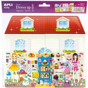 PEGATINAS DRESS UP JUMBO CASA BLISTER 1 HJ