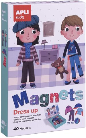 CAJA MAGNETICO DRESS UP EDUCATIVO 40 UD