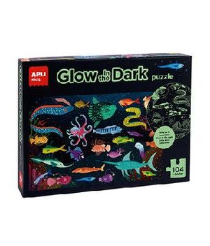 CAJA PUZLE GLOW IN THE DARK OCEANO 104U
