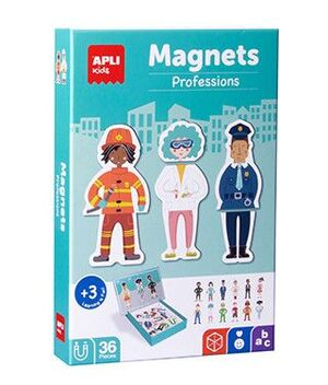 CAJA PUZLE MAGNETICO PROFESIONES 36 UD