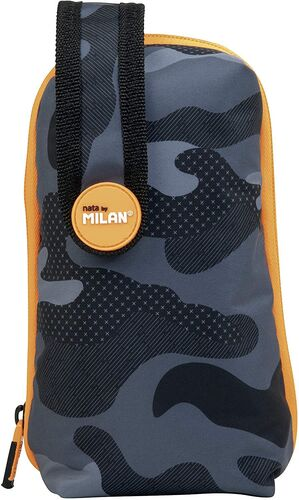 PLUMIER LLENO BLACK CAMOUFLAGE